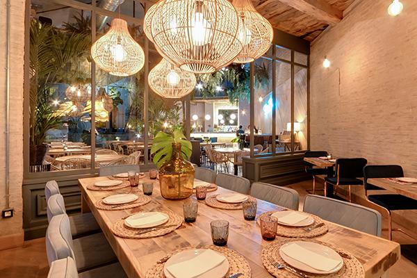 mesa donde comer sevilla
